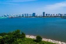 沧州渤海新区贝壳湖景区正式开放迎宾